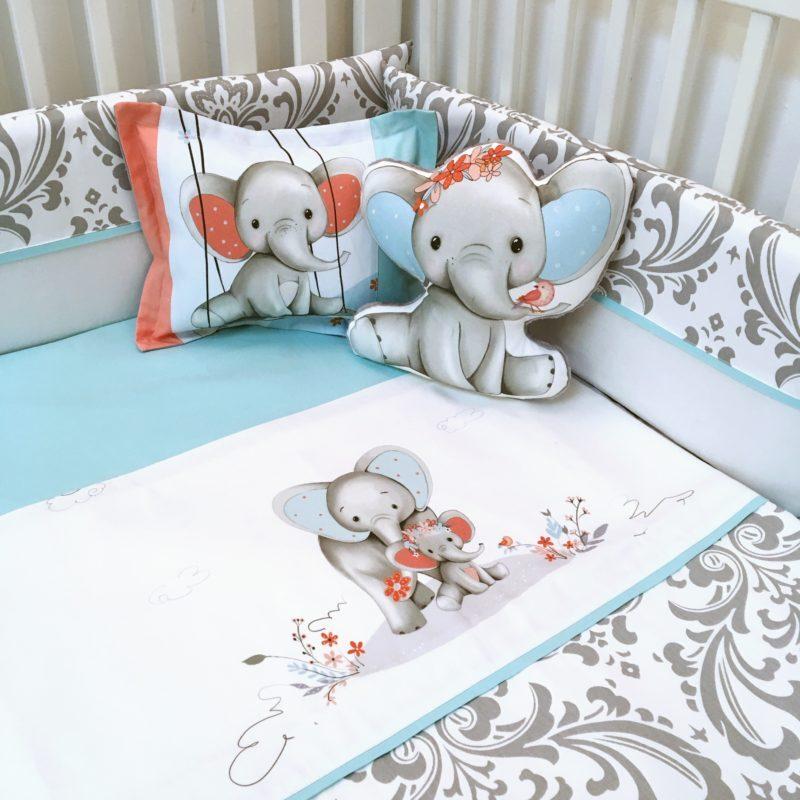 elephants-turquoise-corail
