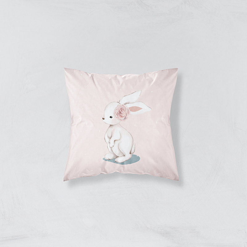 coussin-lapin-rose
