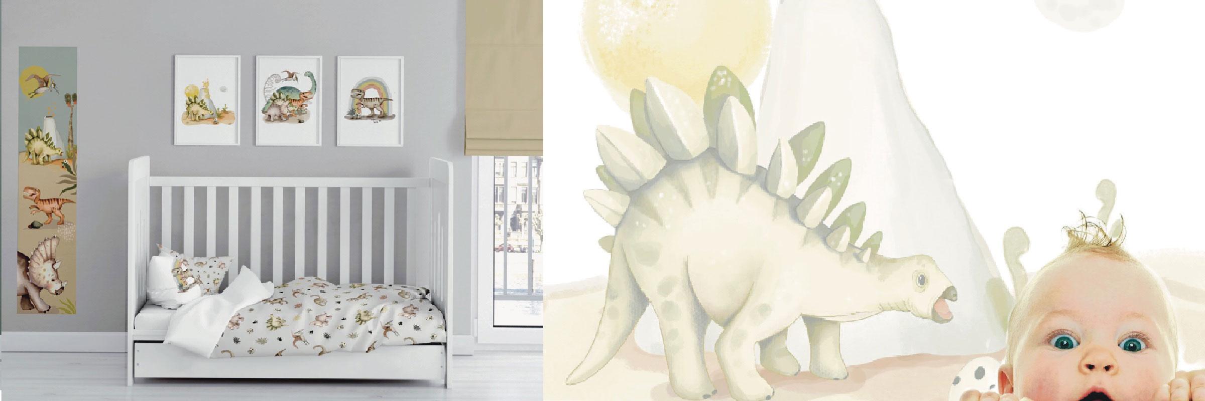 literie-bebe-garcon-dinosaure